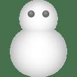 自然 雪(天気・ゆきだるま)(カラー)