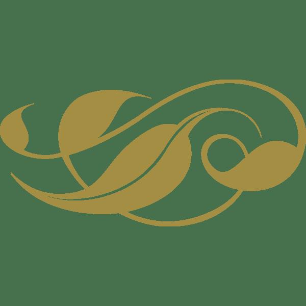 装飾 オーナメント(葉)(カラー)