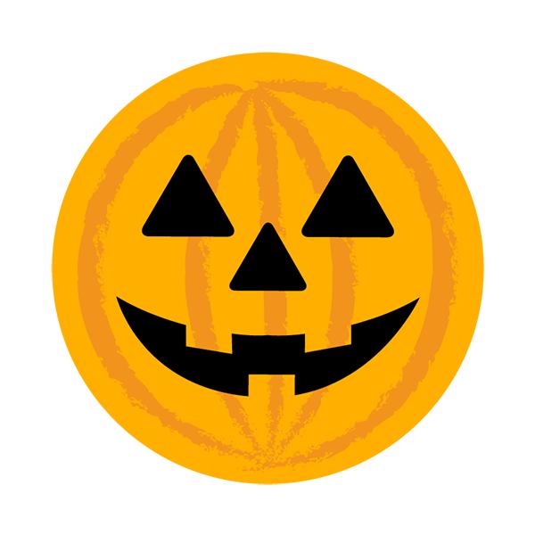 ハロウィン かぼちゃ 丸 無料イラストpowerpointテンプレート配布