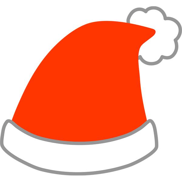サンタ帽子 無料イラストpowerpointテンプレート配布サイト素材工場