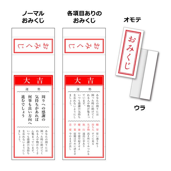 オリジナルおみくじ 無料イラストpowerpointテンプレート配布サイト
