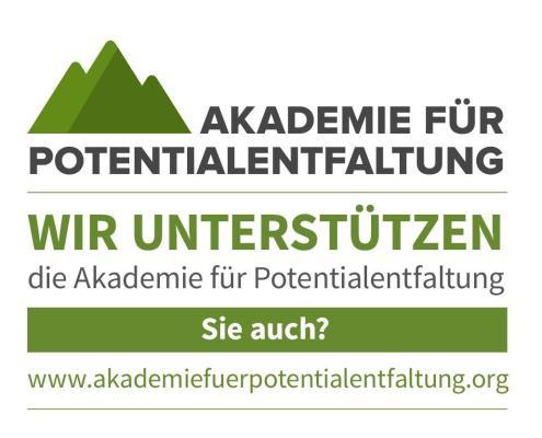 Support Banner Akademie f. Potentialentfaltung