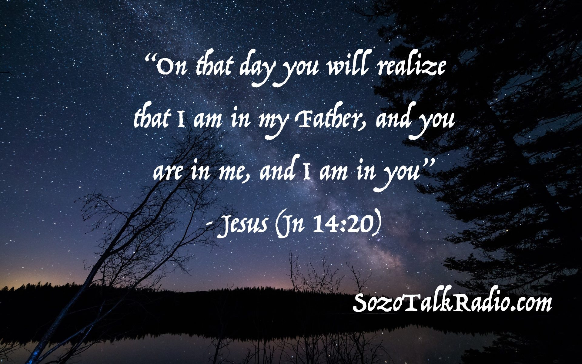 John 14:20 Shift Happens in the Father's Embrace
