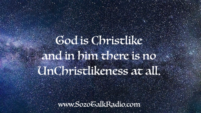 God is Christlike