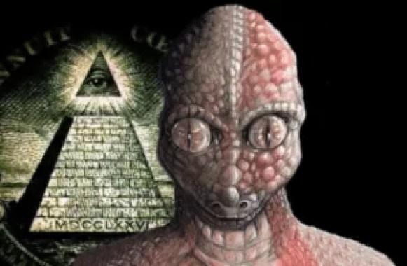A conspiração reptiliana