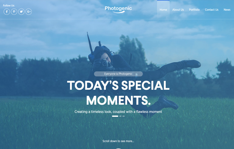 1 to 12 of 1006 free personal website templates available on the free css site. Personal Portfolio Free Css Templates For 2020