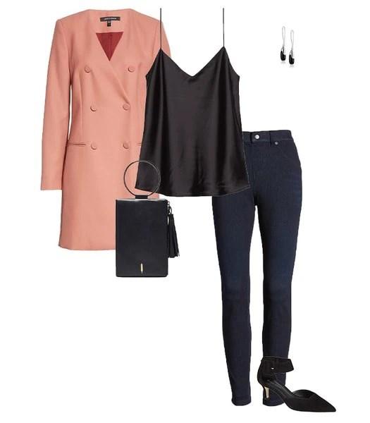Idea de traje de jeans ajustados |  40plusstyle.com