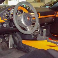 Intérieur Porsche après detailing