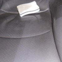 Image siège de Porsche en cuir restauré