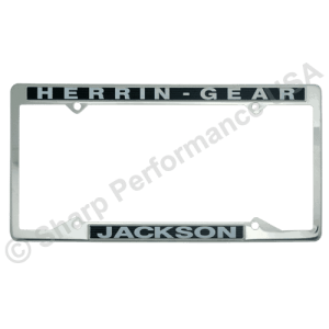 STAINLESS-STEEL License Plate Frames