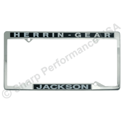 STAINLESS STEEL metal License Plate Frames