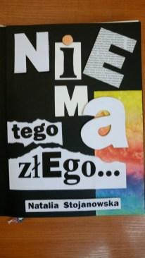 Okładka i ilustracje książki Natalii Stojanowskiej