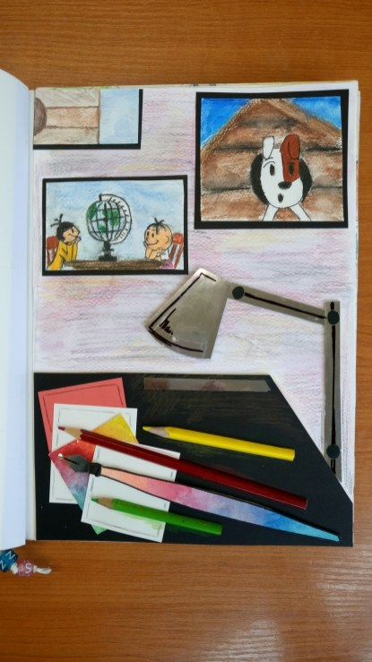 Ilustracje książki Natalii Stojanowskiej