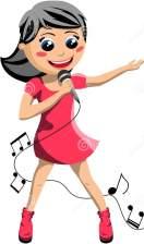 szczliwy-dziewczyna-piew-z-mikrofonem-31308255