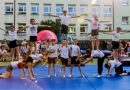 Pokaz akrobatyczny klasy 5a