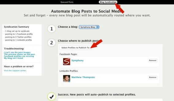 Add blog to linkedin