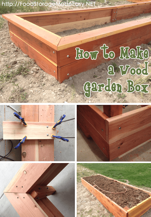 How to Build a Wood Garden Box