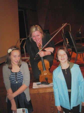 eva and violin