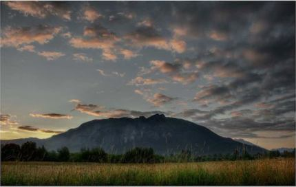 July Mt Si Sunrise by Danny Raphael