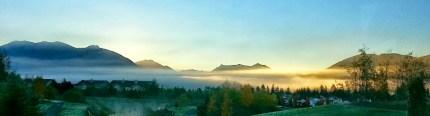 Sunrise, October 22, 2013. By Myles Ostheimer