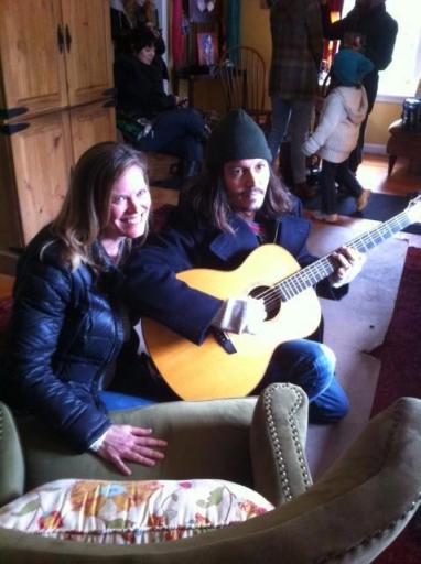 Photo of Depp in Carnation, February 26, 2013, courtesy of  johnnydeppreads.com. Originally posted by Miller's Carnation.