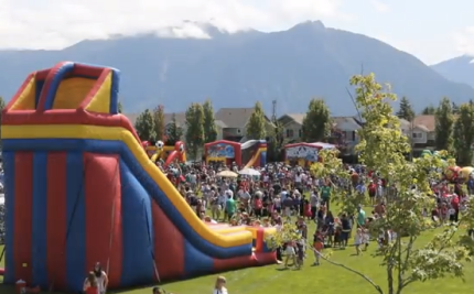 4th of July event at Snoqualmie Community park.