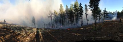 Colockum Tarps Fire in Eastern WA.
