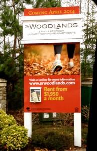 woodlandssign