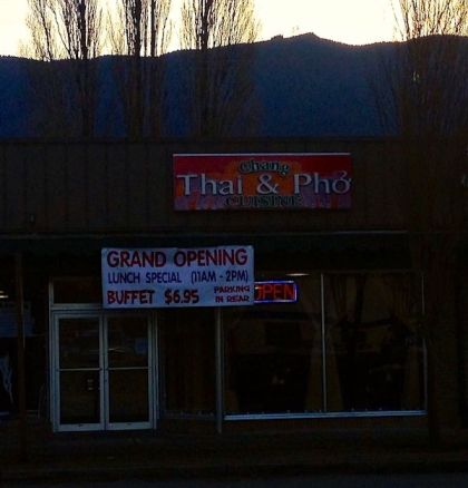 Chang Thai & Pho opened in downtown North Bend in early December.