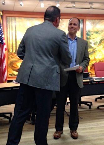 Tavish MacLean takes School Board Oath of Office, 1/9/13