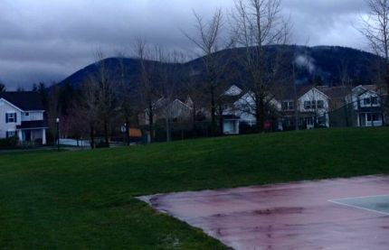 Spot at Snoqualmie Community Park identified for a future skate park.