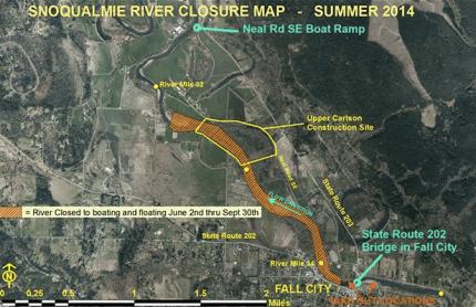 Riverclosure Map