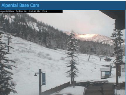 Summit at Snoqualmie Alpental webcam screenshot, 12/26, 14