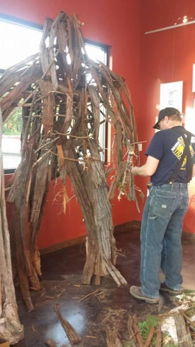 constructing Sasquatch