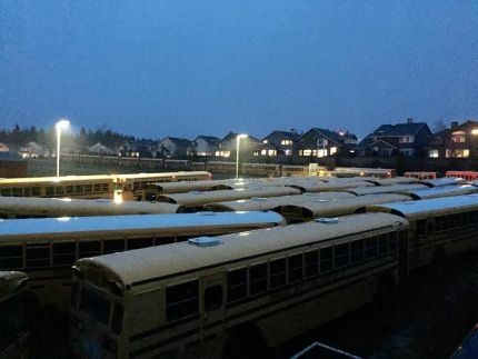buses at cves