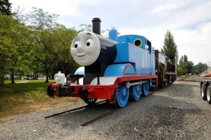 Thomas ready for his annual summer tour stop in Snoqualmie, July 17-19, 2015
