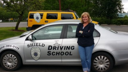 Former SVSD school bus driver and Drivers Ed instructor, Felicia Stone.  Through Shield Driving School a new course will launch in North Bend summer 2015.