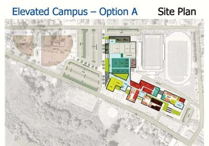 Conceptual Design Plan for rebuilt Mount Si HS, approved in late June.