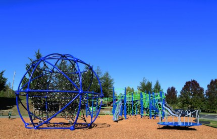 Fisher Creek Park play equipment was chosen by local girl scouts.