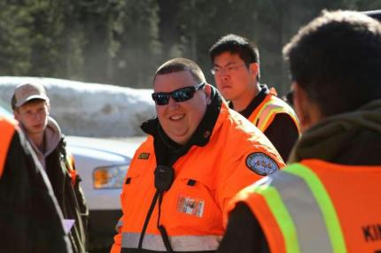 North Bend resident and SAR volunteer - and KCSARA Top Responder, Alan LaBissoniere.