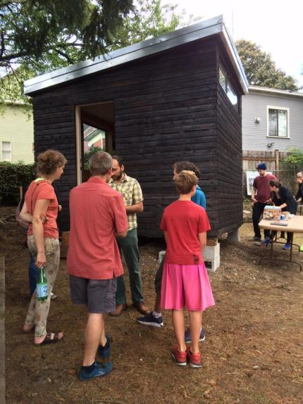 Tiny house featured at Nickelsville Works Tiny House Celebration held in September.