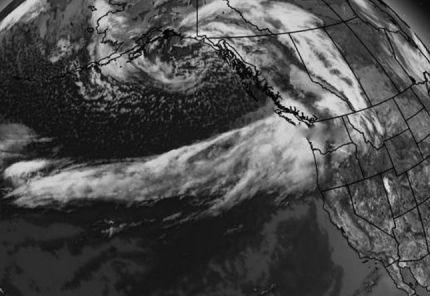 Satellite radar show 'atmospheric river' aimed right at WA State