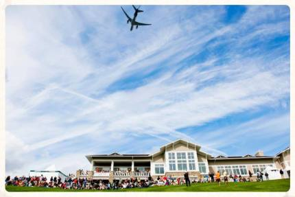 2015 Boeing Classic Flyover. Photo: Facebook