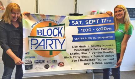 Block party organizers are ready for the September 17th annual community event.