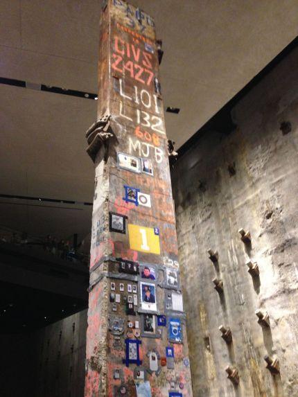'The Last Column' 9/11 Museum