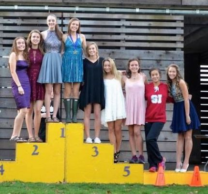 MSHS Girls Cross Country Team took second place at the KingCo 4A Championships on 10/22/16 and then headed off to the Homecoming Dance.