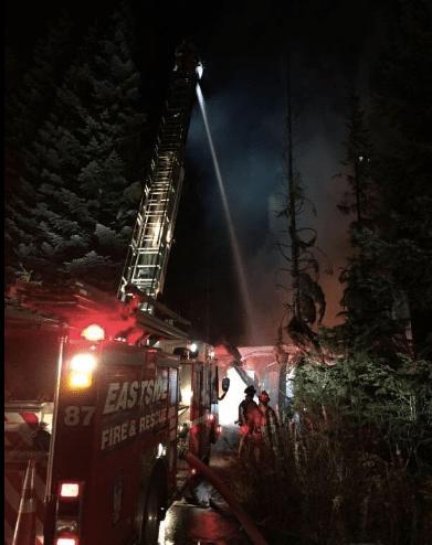 Alpental home fire, 11/8/16.