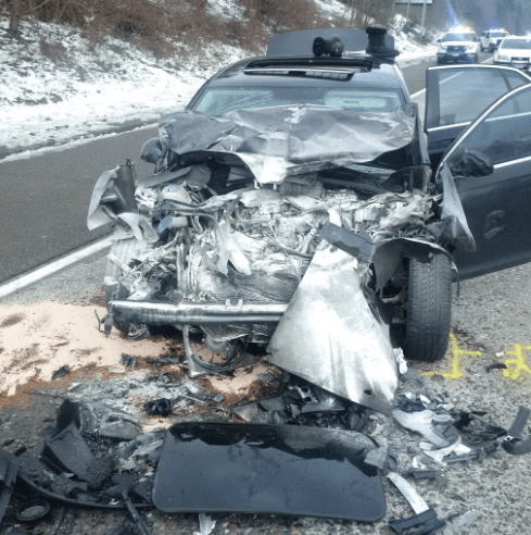 Serious injury accident near I-90/SR 18 interchange, car