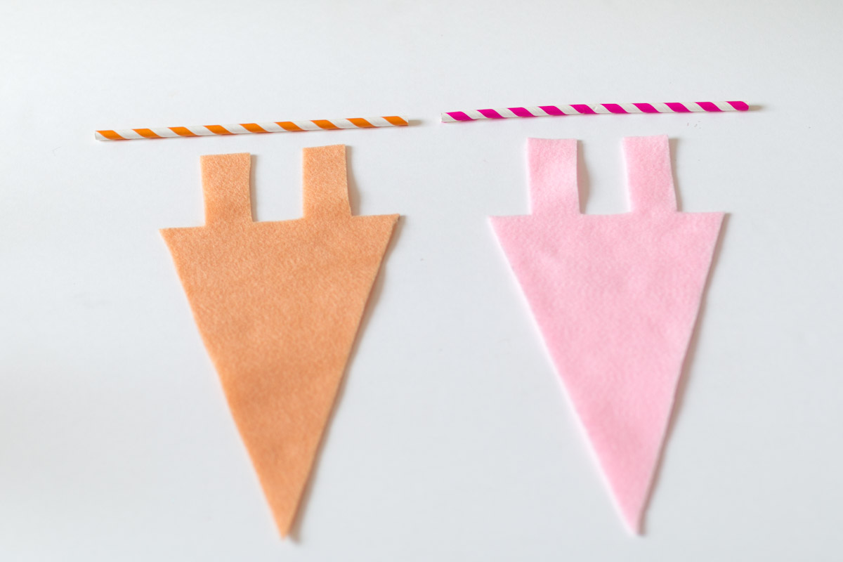 DIY cute pennant I Sp4nkblog