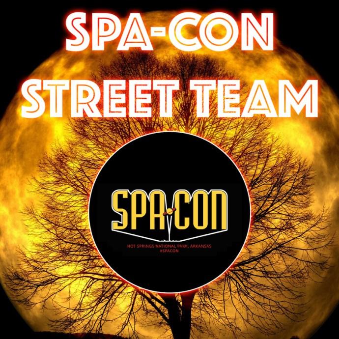 Spa-Con Street Team